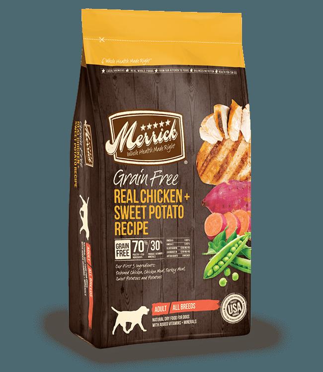 Merrick Grain-Free Real Chicken & Sweet Potato