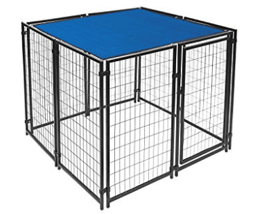 ALEKO 5 x 5 Feet Dog Kennel Shade Cover