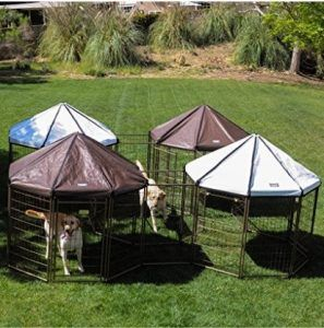 Advantek Connecting Multiple Pet Gazebos