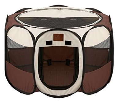 Parkland Playpen Review Brown