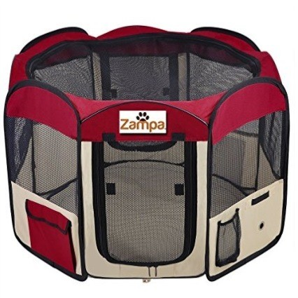 Zampa Foldable and Portable Dog Playpen