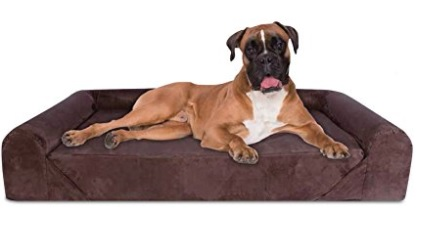 KOPEKS Deluxe Orthopedic Memory Foam Dog Sofa Lounge Bed