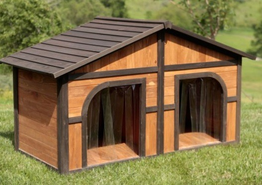 Wood Dog House for XXL Dogs