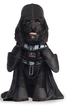 Darth Vador Dog Costume