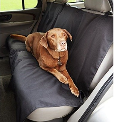AmazonBasics Waterproof Car Bench Seat Cover