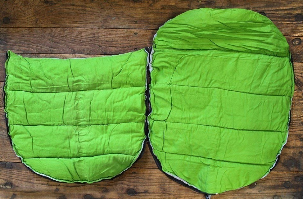 This sleeping bag is awesome if taking dog camping for the first time.
