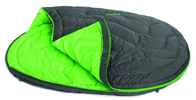 A great sleeping dog bag for winter backpacking.