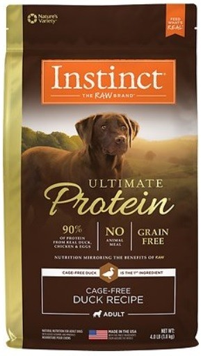 Nature's Variety Ultimate Protein Grain-Free Cage-Free Duck Recipe Dry Dog Food