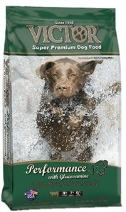 Dog Food with high levels of protein and energy