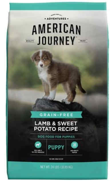 Grain-free dog food for puppies