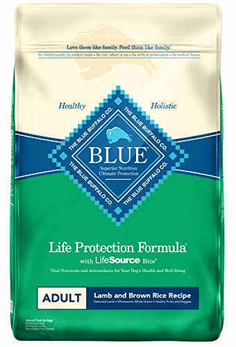 Blue Buffalo Life Protection Lamb and Brown Rice Formula