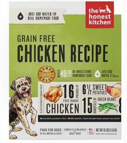 Wholesome natural dog food