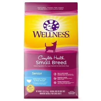 Top rated senior dog food for small dogs breeds