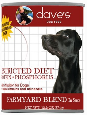 Dave's Pet Food Restricted Diet Protein & Phosphorus