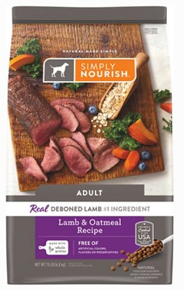 Best with healthy grains dog food
