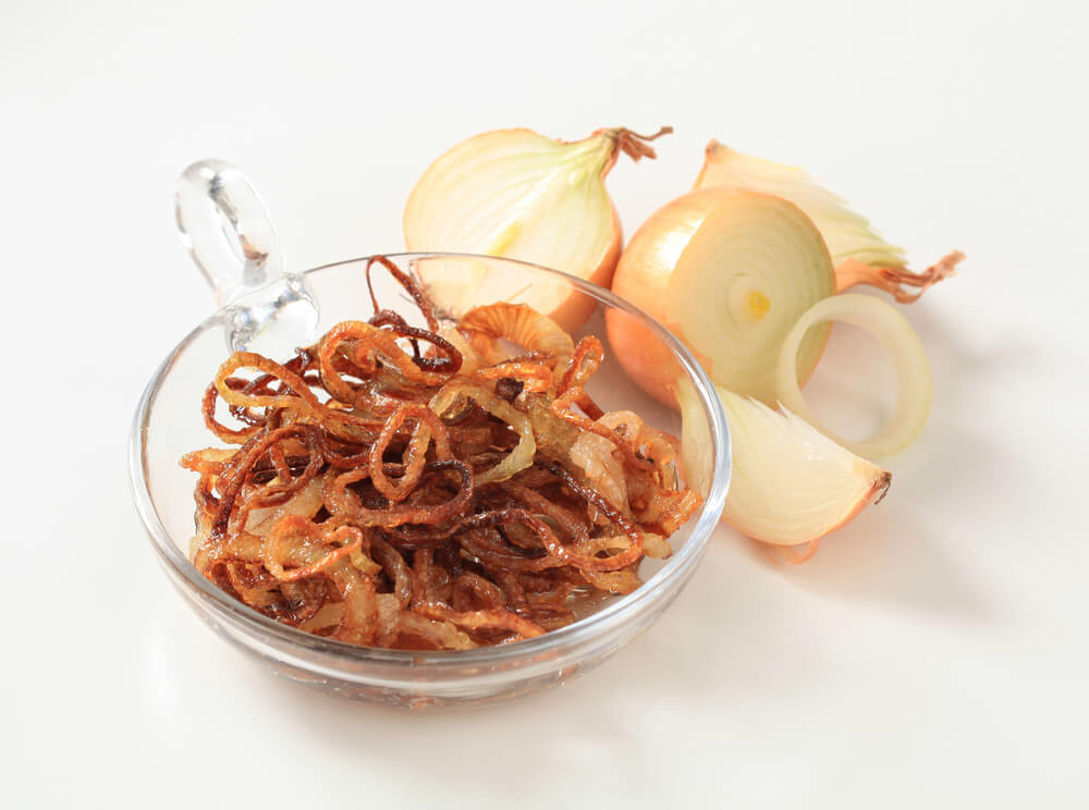 Can Dogs eat sauteed fried onions?