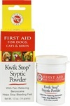 Stop quick bleeding quickly with Miracle Care Kwik Stop Styptic Powder.