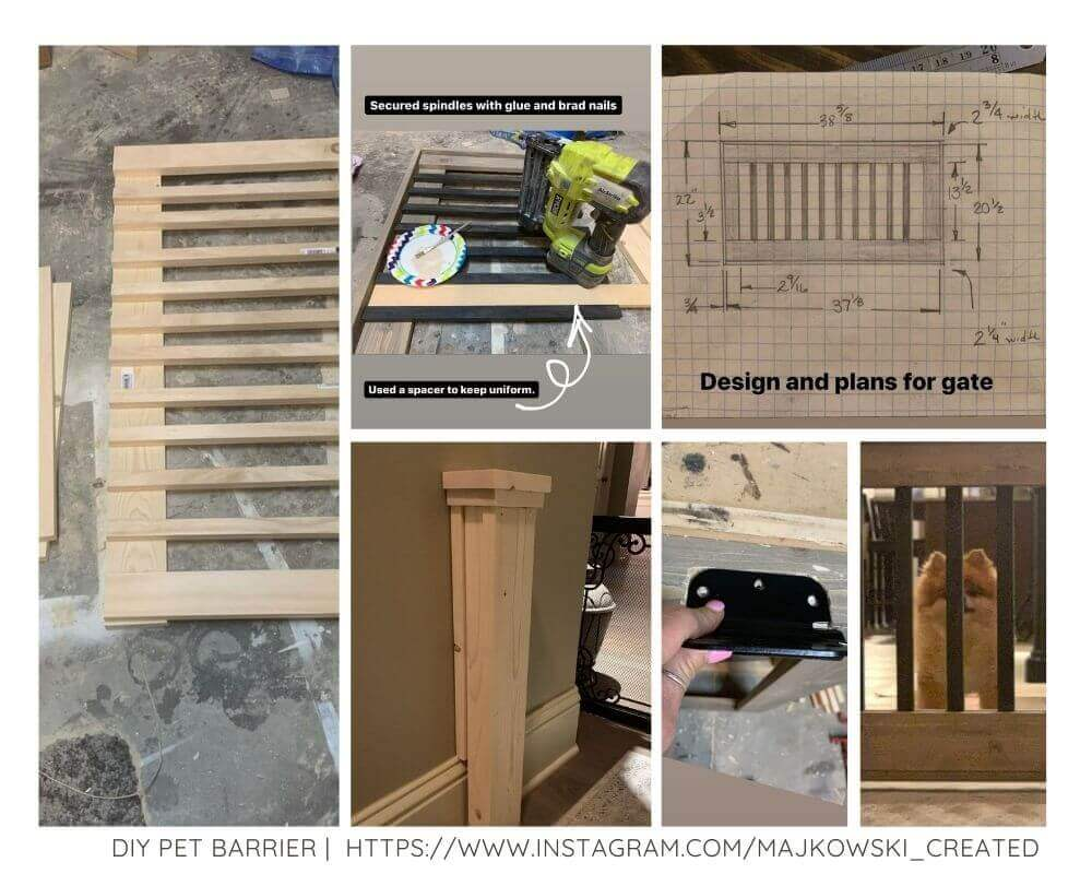 Tutorial for a modern pet/baby gate