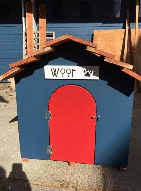 Badass Doghouse Blueprint