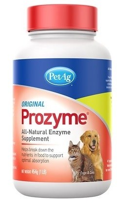 PetAg Prozyme All Natural Enzyme Dog & Cat Powder Supplement