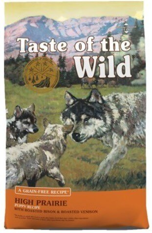aste of the Wild High Prairie Large Puppy Food